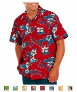 Tropic Print Camp Shirt