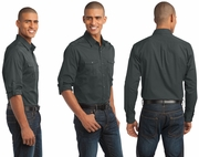 Two Pocket Roll Sleeve Shirt