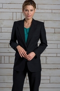 Women's Single Breasted Suit Coat