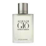 Acqua Di Gio Cologne by Giorgio Armani, 2 Piece Set: 3.4 oz Eau De Toilette Spray + Deodrant for Men