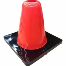 Agility Cone Vinyl Weighted 6""