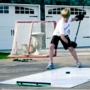 """Hockey Passing Kit Pro - Shooting Board with Passer - 48"""" x 96"""""""