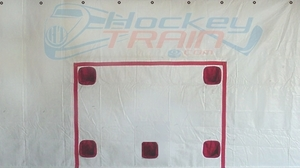 Hockey Shooting Tarp 5 Hole - 7.5 x 16