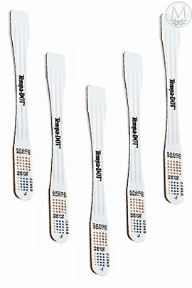 3M Tempa-Dot Thermometer #5122ns (Non-Sterile) (Case of 20 Boxes)