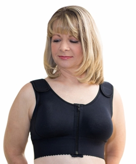 ABC Front Close Compression Pocketed Bra, Style 519