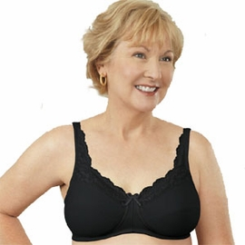 ABC Lace Front Pocketed Bra, Style 101
