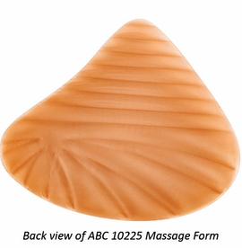 ABC Massage Form Asymmetric Lightweight Double-Layered Silicone Breast Form, Style 10225