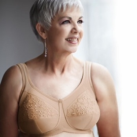 ABC Royal Lace Full Cup Pocketed Bra, Style 509