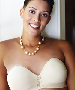 ABC Seamless Strapless Underwire Pocketed Bra, Style 112