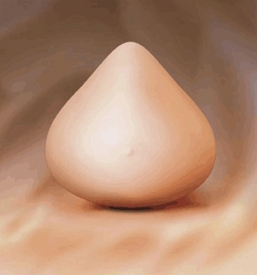 ABC Ultra Light Silicone Triangle Breast Form, Style 1041