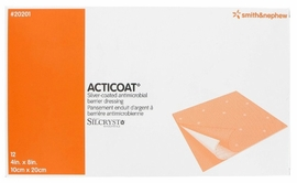 "Acticoat Burn Dressing (4""x8"") (Box of 12)"