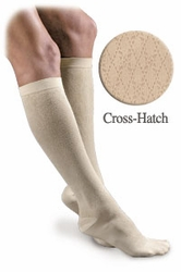 Activa Sheer Therapy Women's Pattern Socks (Cross-Hatch) (15-20mmHg)