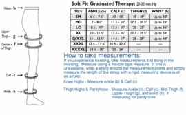 Activa Soft Fit Graduated Therapy Knee High (Open Toe) (20-30mmHg)