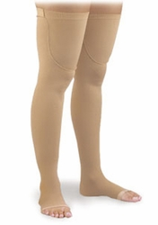 Activa Thigh High Anti-Embolism Stockings with Uni-Band Top (Open Toe) (18mmHg)