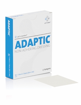 "Adaptic Non-Adhering Dressing 2012 (3""x3"") (by the Each)"