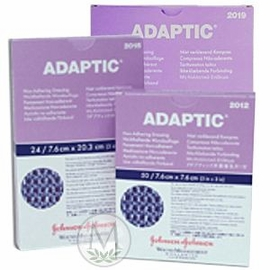 "Adaptic Non-Adhering Dressing #2019 (5""x9"") (Box of 12)"
