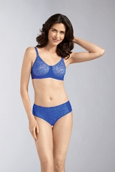 Amoena Annette Panty - Electric Blue/Nude