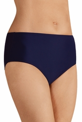 Amoena Cairo High Waist Brief Panty Swimsuit Bottom 71057 - Dark Blue