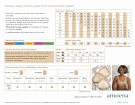 Amoena Energy 2U with Comfort+ Breast Form 347