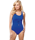 Amoena Gulf of Mexico Pocketed Tank Swimsuit, Royal Blue