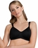 Amoena Lara Comfort 3D (Wire Casing) Soft Cup Pocketed Bra 2436 - Black