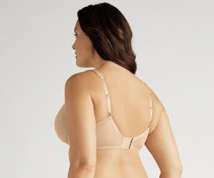 Amoena Lara Comfort 3D (Wire Casing) Soft Cup Pocketed Bra 2437 - Nude