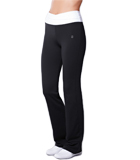 Amoena Long Leisure Pant, Black/White 1007