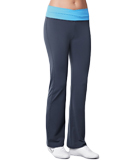 Amoena Long Leisure Pant, Gray/Blue 1008