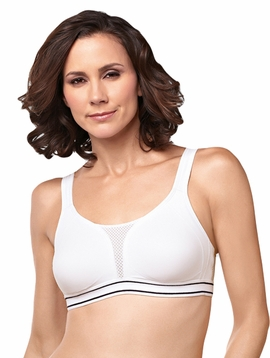 Amoena Performance Sports Pocketed Bra 2654, White