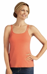 Amoena Valetta Pocketed Camisole Top, Melon