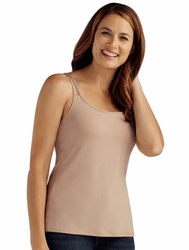 Amoena Valletta Pocketed Camisole with Built-In Bra 44075 - Nude