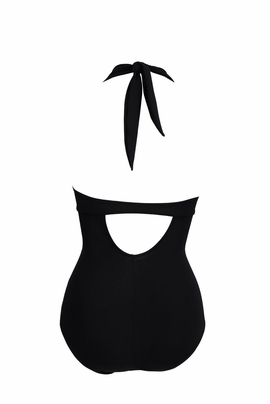 Anita Care Black Pocketed Tank Swimsuit