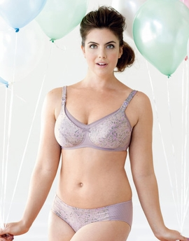 Anita Purple Ash Soft Cup Padded Nursing Bra 5038
