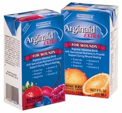 Arginaid Extra Arginine-Intensive Nutrition Home Page