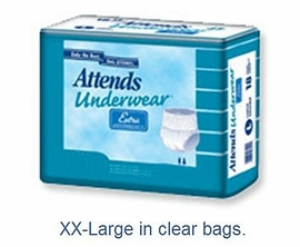 Attends Extra Absorbent Pull Up Underwear (by the Bag)