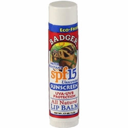 Badger SPF 15 Lip Balm Stick