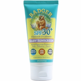 Badger SPF 30+ Natural Zinc Oxide Baby Sunscreen