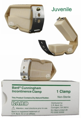 Bard Cunningham Incontinence Clamp