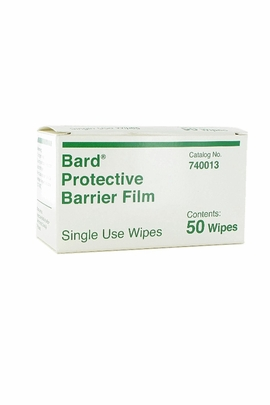 BardΠProtective Barrier Film Wipes (Box of 50)