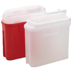BD Sharps Collector, 5.4 Qt Pearl Patient Room with Side Entry (305444)