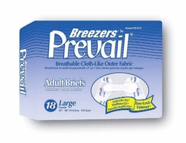 Breezers by Prevail Adult Diapers (by the Case)