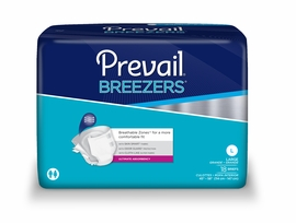 Breezers by Prevail Adult Diapers (Size Large (Bag of 18)