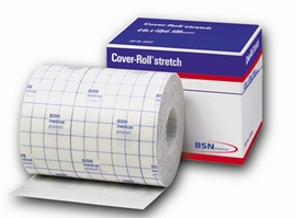 "BSN-Jobst Cover-Roll Stretch Adhesive Non-Woven Bandage, 4"" x 10 yds"