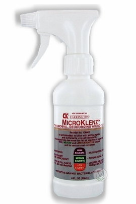 Carrington MicroKlenz Antimicrobial (Deodorizing Wound Cleanser (8 oz.)