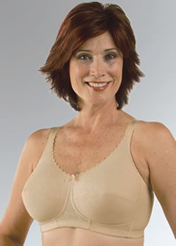 Classique Cotton Knit Comfort Post Pocketed Bra, Style 781