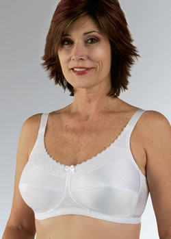 Classique Elegant Lace Trim Comfort Post Pocketed Bra, Style 770