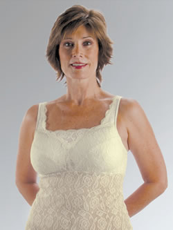 Classique Fashion Camisole Post Pocketed Bra, Style 733