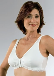 Classique Front Closure Lace Trim Leisure Post Pocketed Bra, Style 789