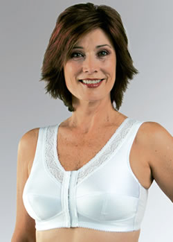 Classique Front Closure Leisure Camisole Post Pocketed Bra, Style 793