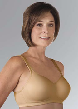 Classique Full Coverage Seamless Molded Post Pocketed Bra, Style 739